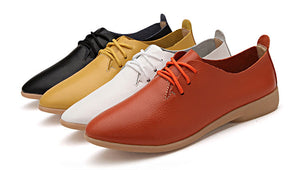 The best flats leather shoes for women - we the online store- The best Shoes & Clothing Store