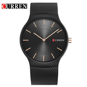Quartz  Business 2018 new black rose gold Pointer Relogio Masculino Luxury Wristwatch - we the online store- The best Shoes & Clothing Store