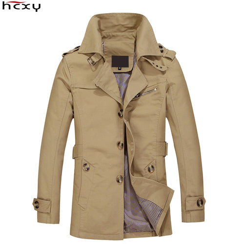 Top Quality Long Jacket Overcoat for Men