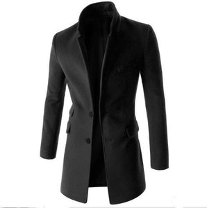Latest 2018 High Quality Overcoat For Men