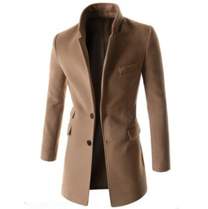 Latest 2018 High Quality Overcoat For Men - we the online store- The best Shoes & Clothing Store