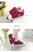 Load image into Gallery viewer, Latest GOSKATER WEDGES CANVAS TRAINERS FOR WOMEN - we the online store- The best Shoes & Clothing Store