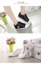 Load image into Gallery viewer, Latest GOSKATER WEDGES CANVAS TRAINERS FOR WOMEN