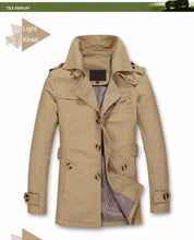 Load image into Gallery viewer, Top Quality Long Jacket Overcoat for Men - we the online store- The best Shoes & Clothing Store