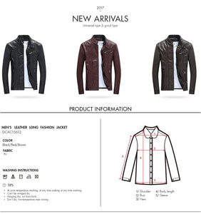 The Best Autumn Winter PU Leather Jackets For Men
