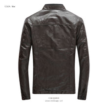 Load image into Gallery viewer, The Best Autumn Winter PU Leather Jackets For Men
