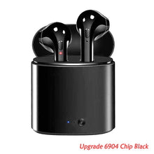 Load image into Gallery viewer, Wireless Bluetooth Earbuds i7s Headset with Charger Box for Android & IOS