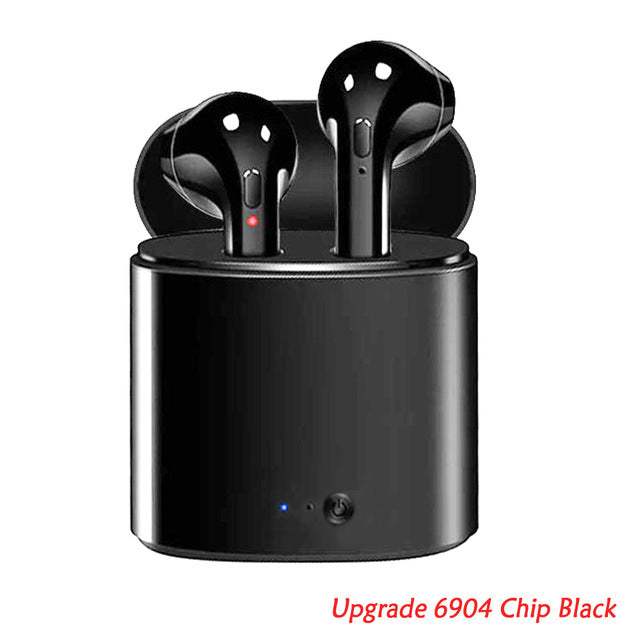 Wireless Bluetooth Earbuds i7s Headset with Charger Box for Android & IOS