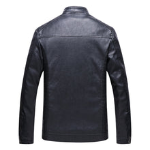 Load image into Gallery viewer, The Best 2018 New Men Motorcycle Keep warm Winter Leather jackets for Men - we the online store- The best Shoes & Clothing Store