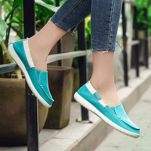 The Best 2019 Loafers Canvas shoes for Woman