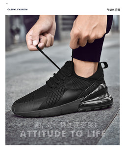 New Arrival 2019 High Tech Damping Flyknit Breathable Men Sneakers - we the online store