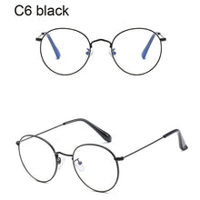Load image into Gallery viewer, 2019 Round Clear Lens Computer Glasses Spectacle Frames Anti Blue Light Goggles Anti Glare Eyeglasses Frame for Women - we the online store- The best Shoes & Clothing Store