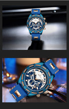 Load image into Gallery viewer, Top Brand Luxury Chronograph Waterproof Quartz Watch with Luminous Display