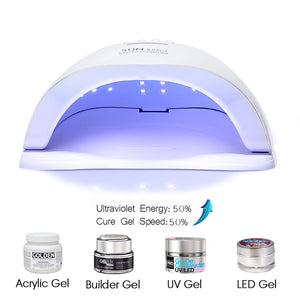 Latest 2019 UV LED Lamp For Nails Dryer 54W/48W/36W Ice Lamp For Manicure Gel Nail Lamp Drying Lamp For Gel Varnish - we the online store- The best Shoes & Clothing Store