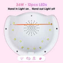Load image into Gallery viewer, Latest 2019 UV LED Lamp For Nails Dryer 54W/48W/36W Ice Lamp For Manicure Gel Nail Lamp Drying Lamp For Gel Varnish - we the online store- The best Shoes & Clothing Store