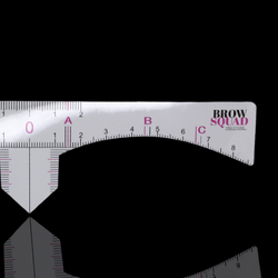 Brow Mapping Rulers