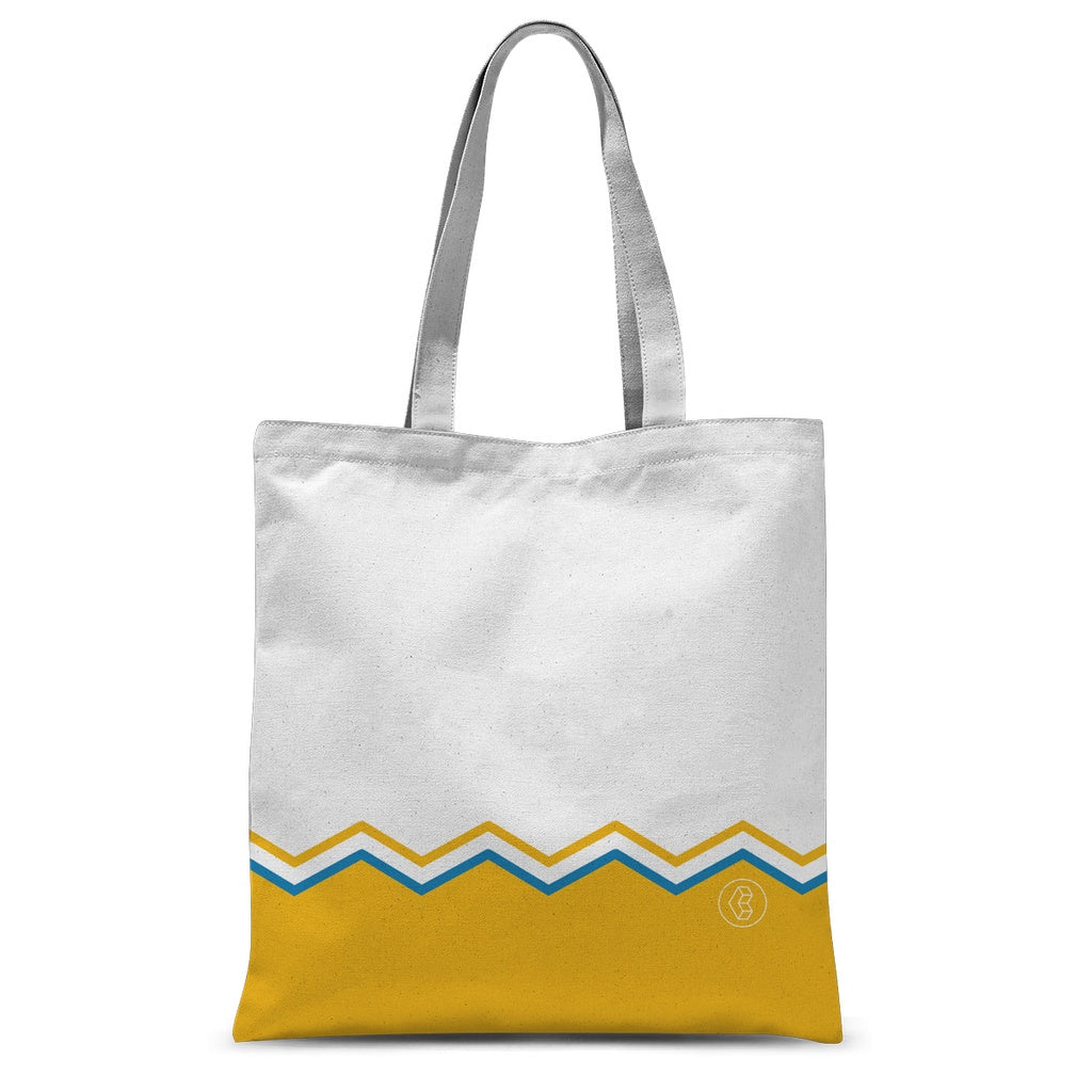 Summer Zigs Tote Bag