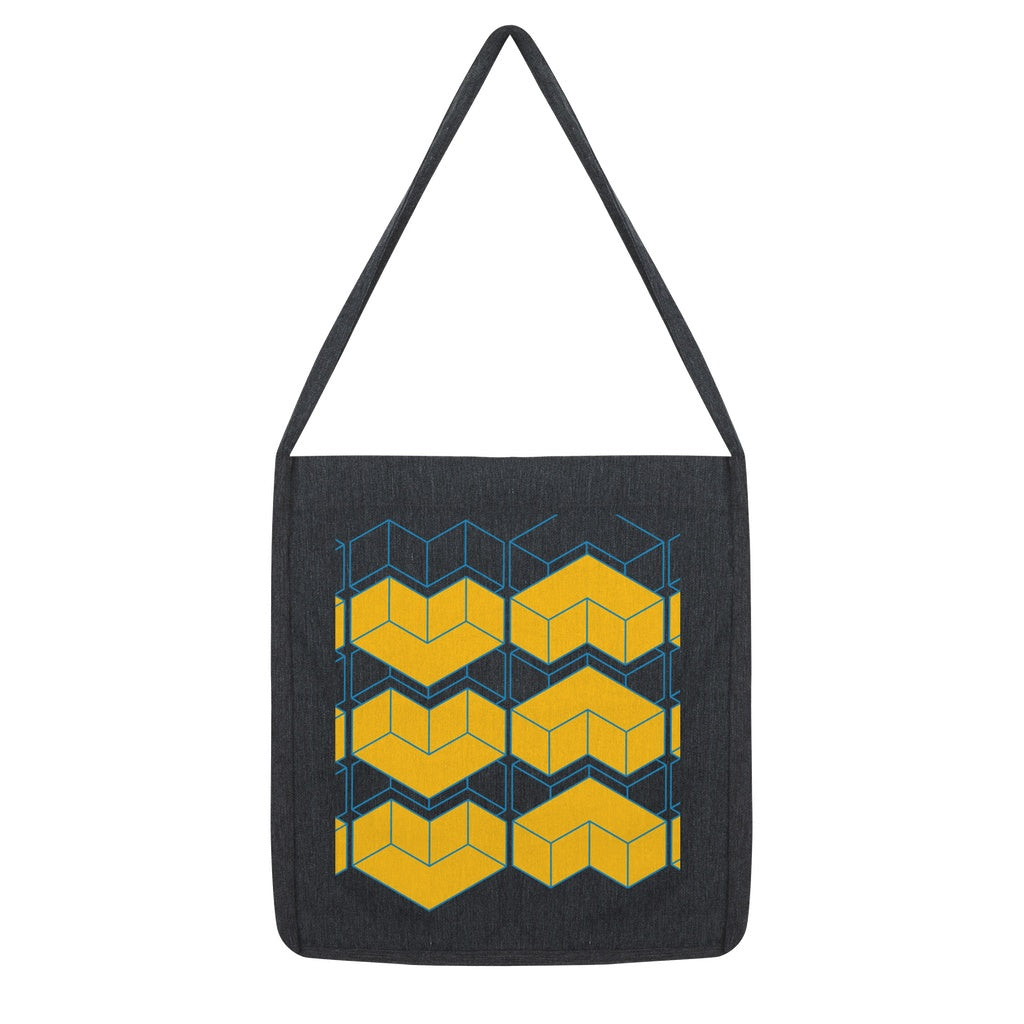 Bold Yellow Tote Bag