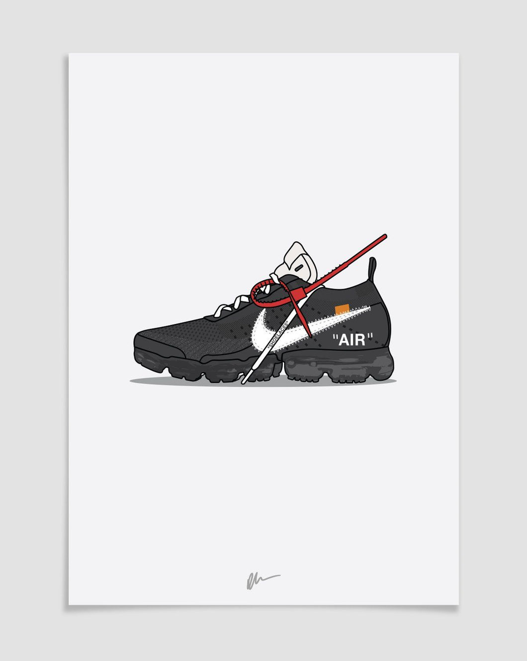 DESSIN SNEAKERS OWV