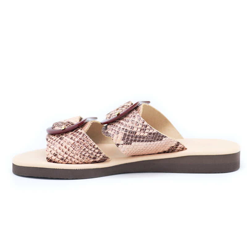Ancient Greek Sandals art. Jaso Python Nude