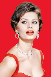 Inspired by Sophia Loren