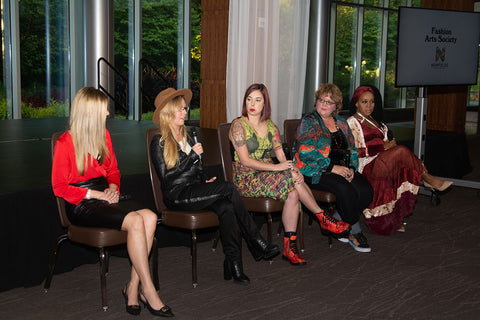 fashion designer panel