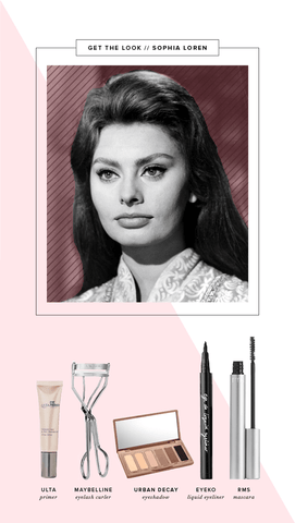 Verily Sophia Loren Makeup Tutorial