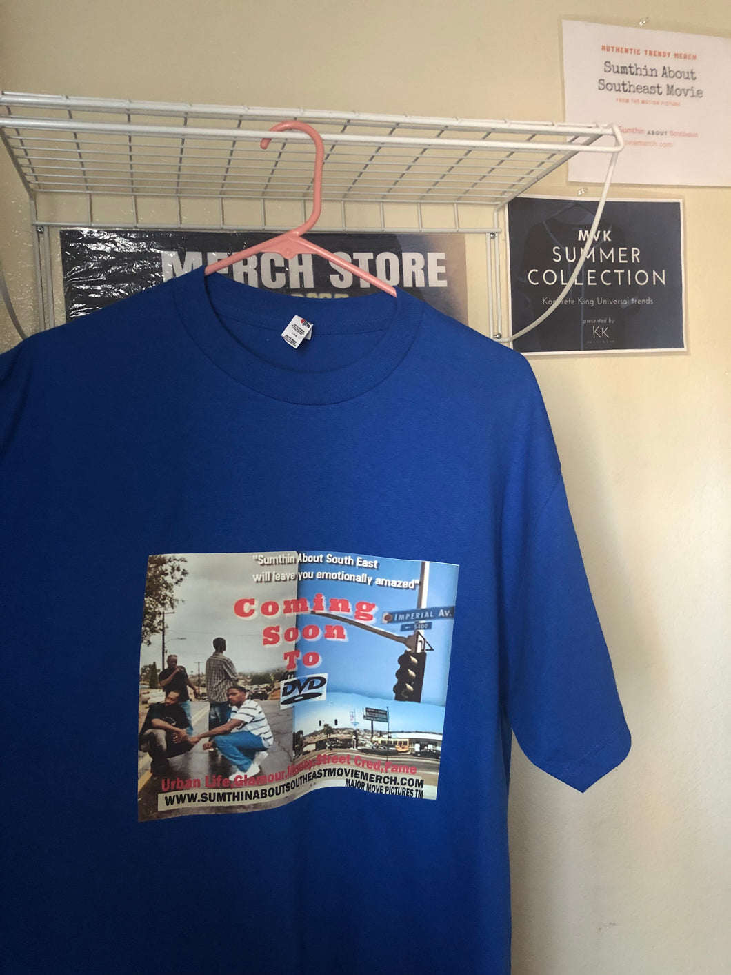 Authentic Blue Movie Tee
