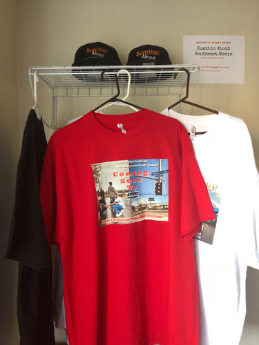 Authentic Red Movie Tee