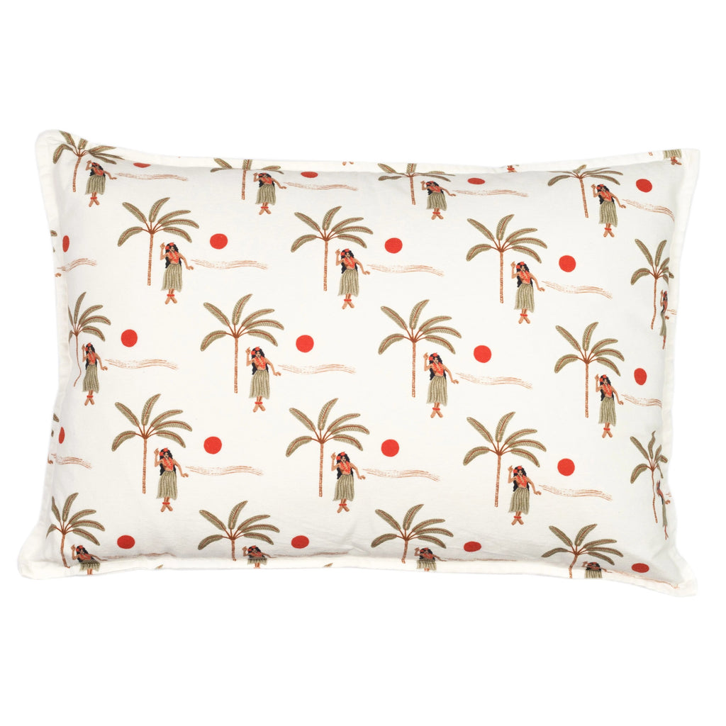 hula betty cushion | white