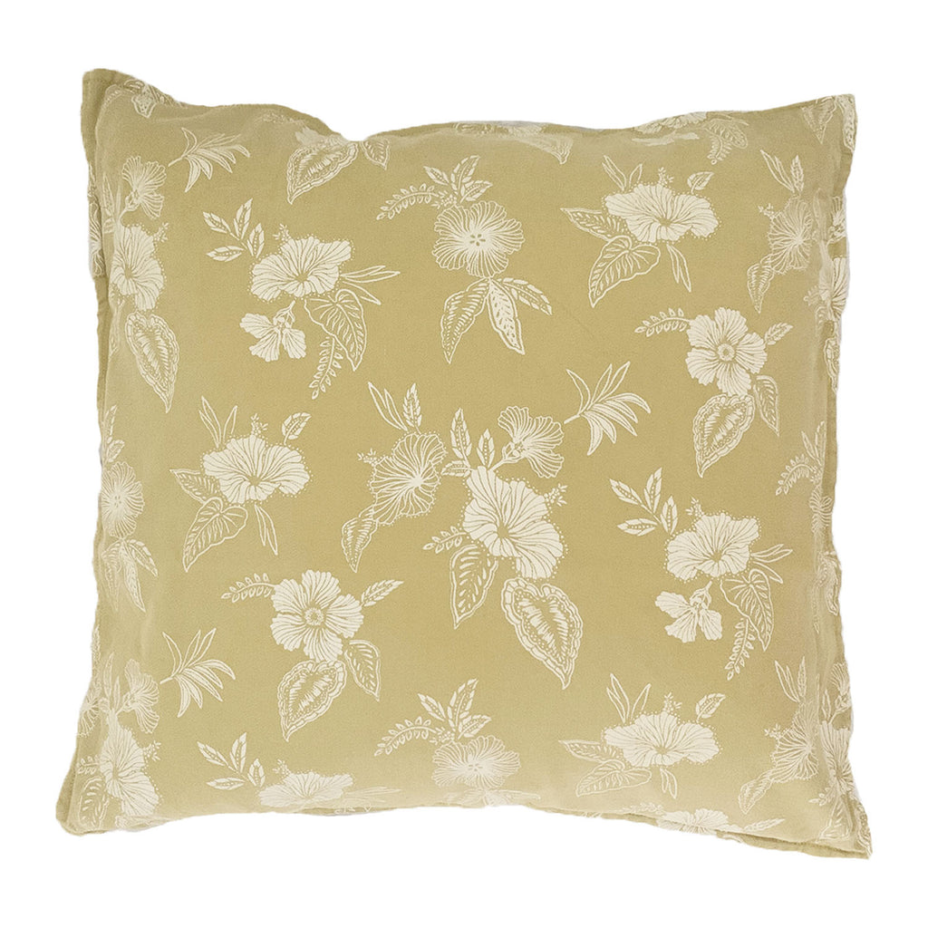 honolulu floral cushion | sunshine