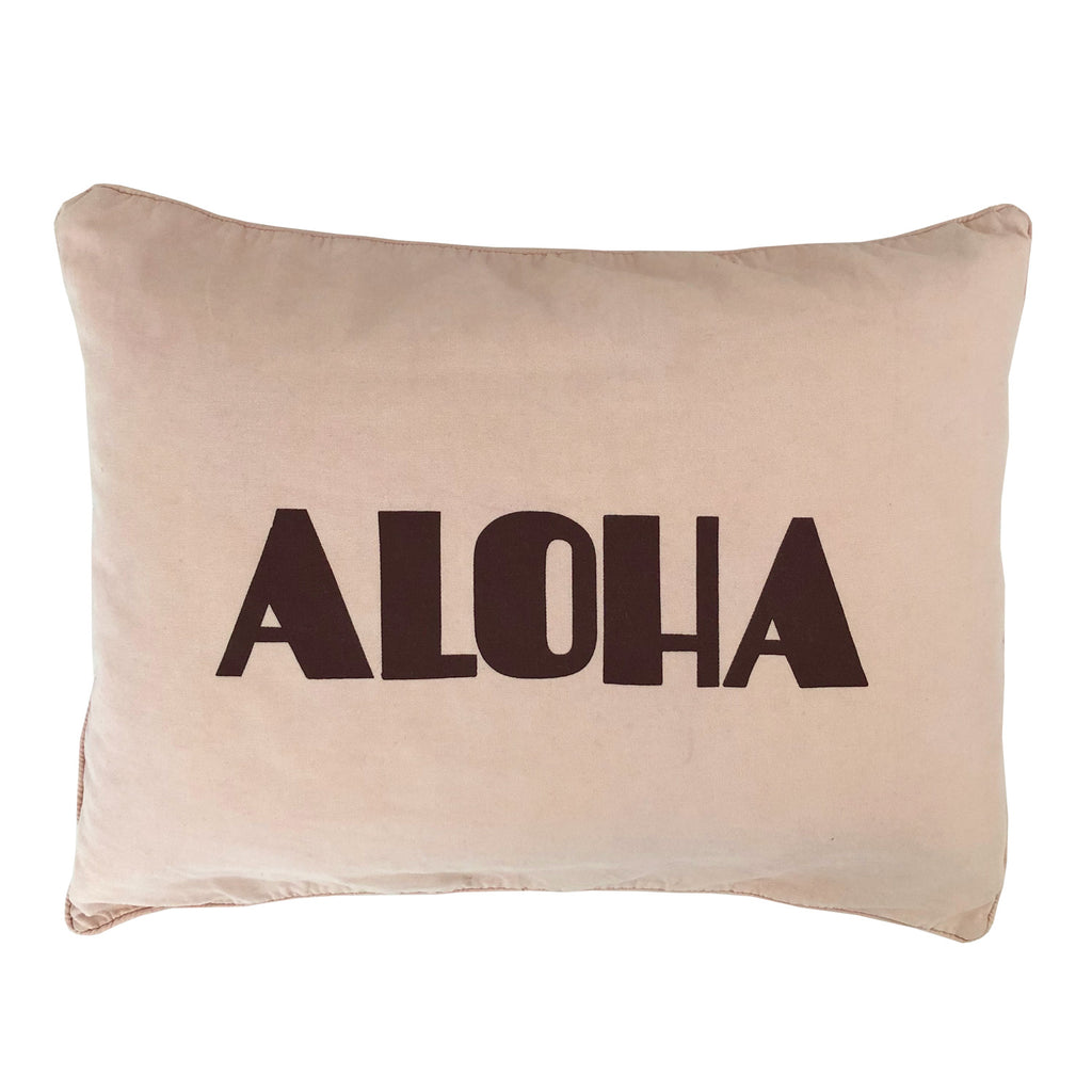 dream aloha cushion | peach *new*