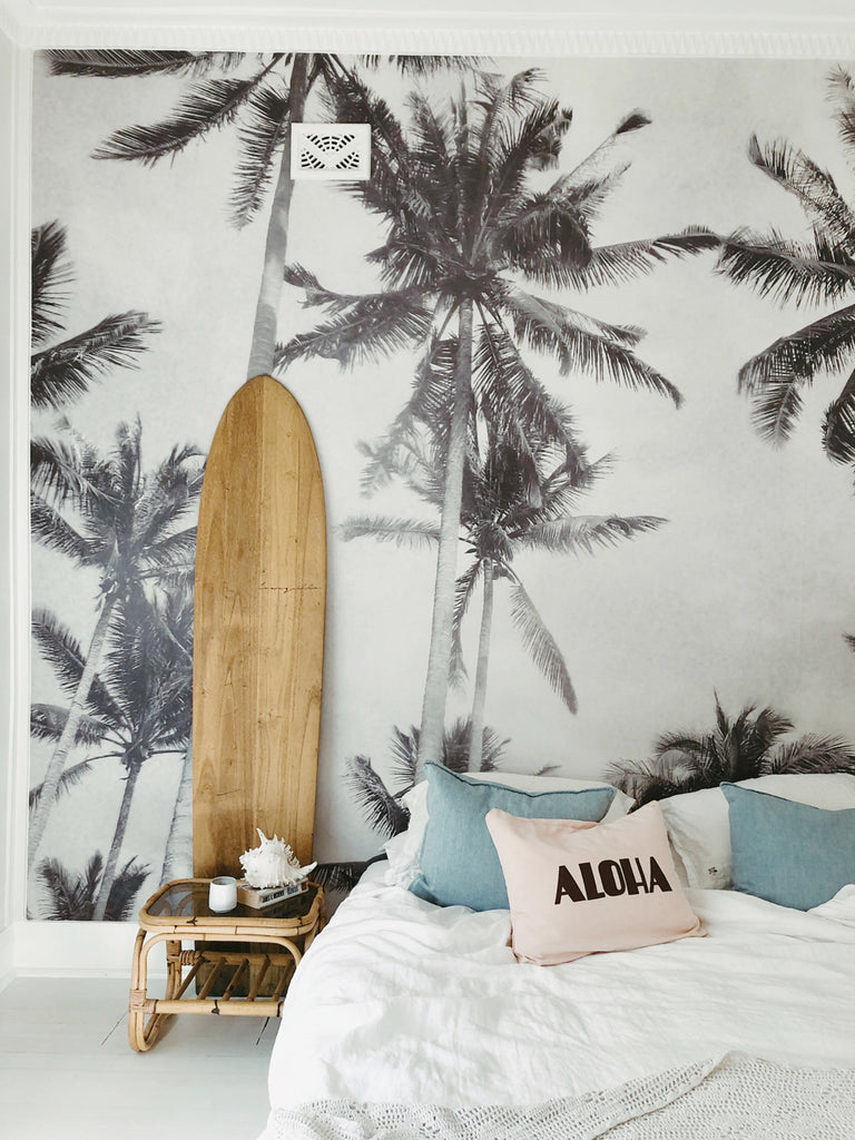 dream aloha cushion | peach