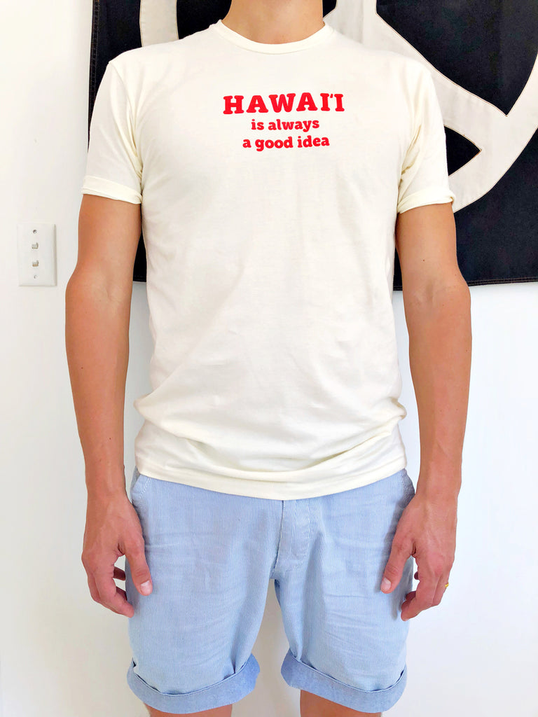 hawaii is a good idea tee | dudes
