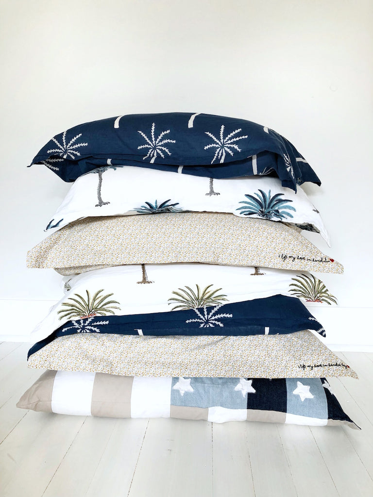 les palmiers pillow pair | classic palm