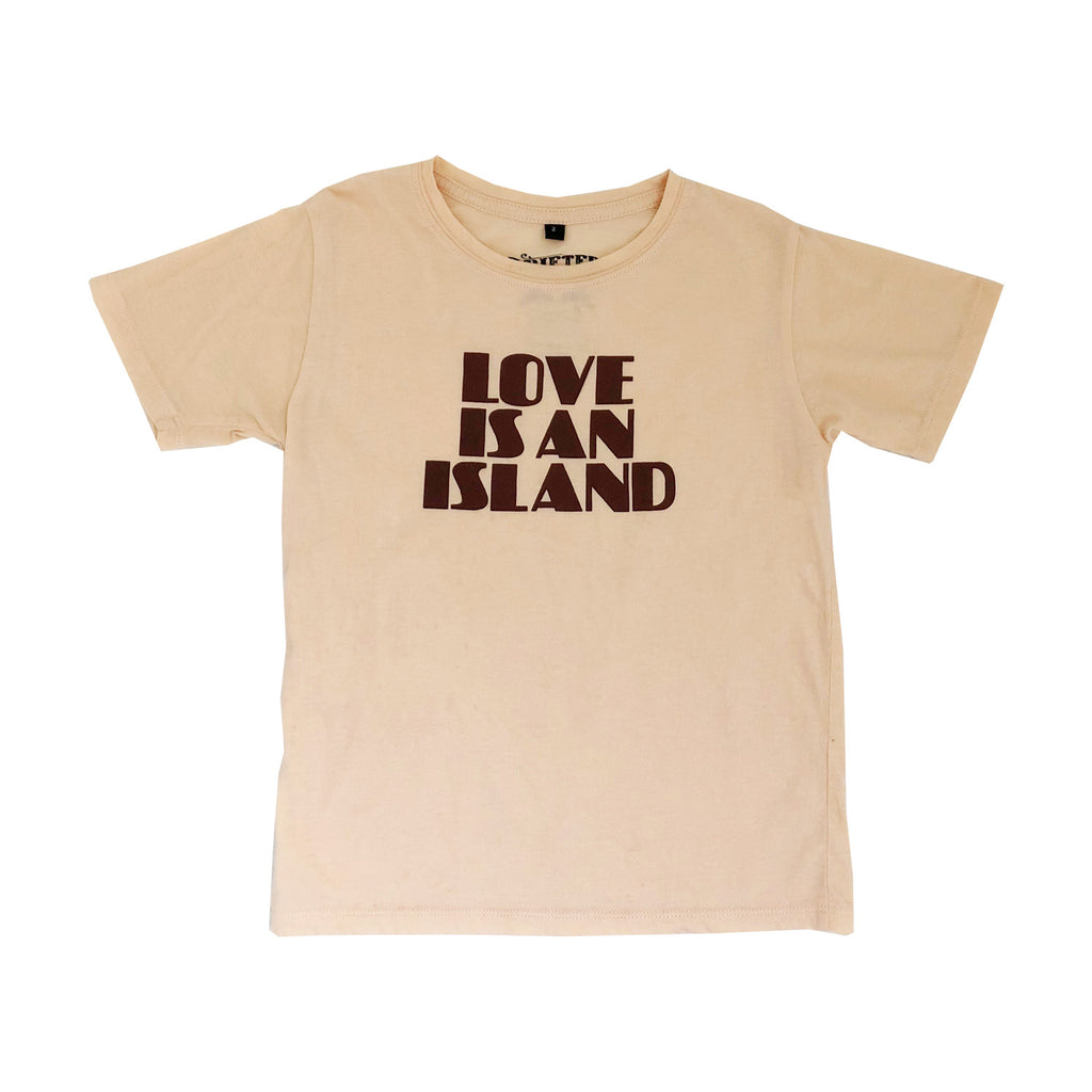 love is x drifter tee | peach