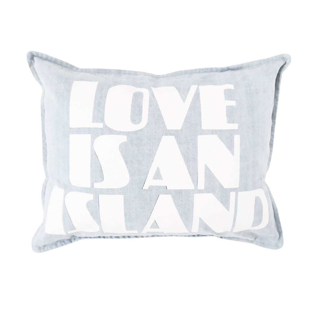 love is an island | denim