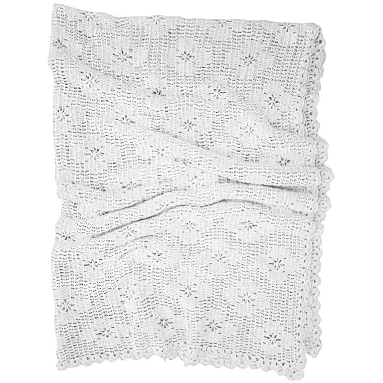 hibiscus hotel throw | washed white