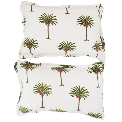 les palmiers pillow pair | classic palm | PRE-ORDER