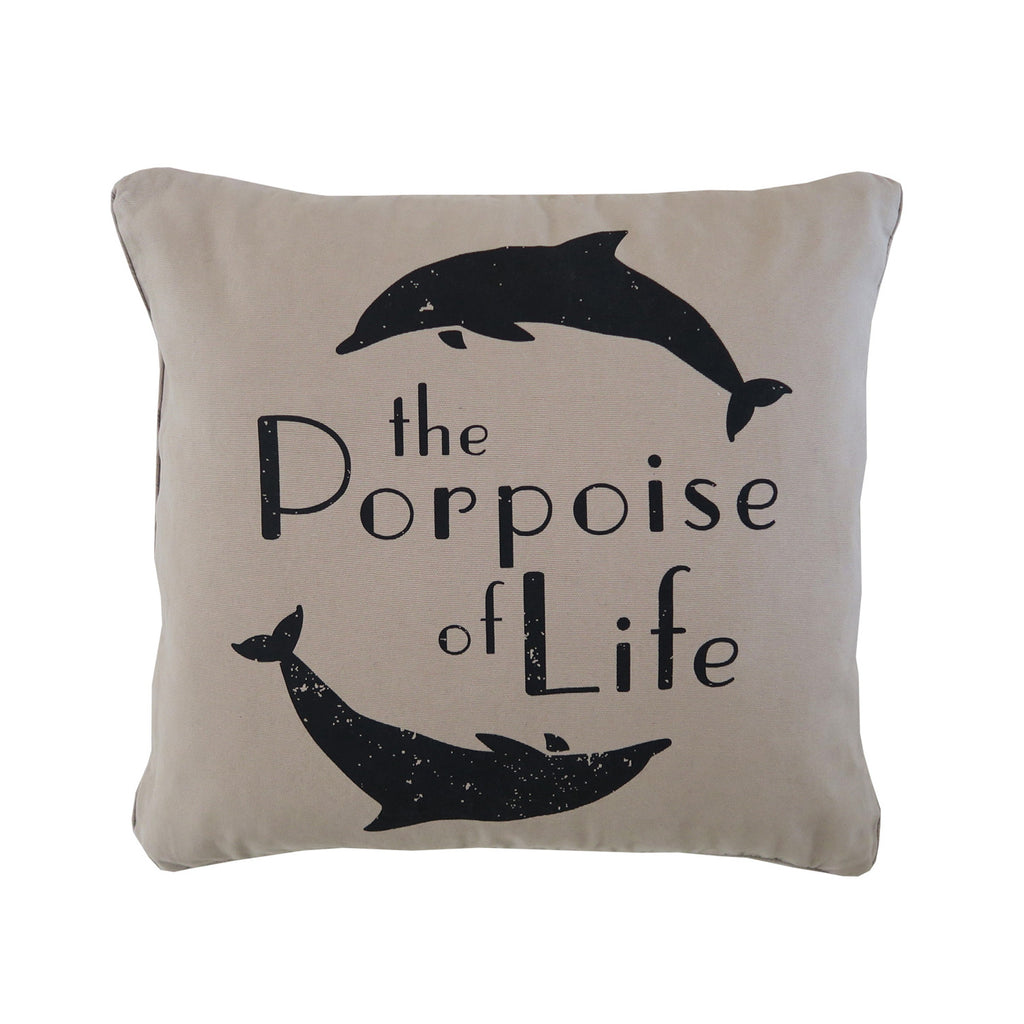 porpoise of life cushion | dune