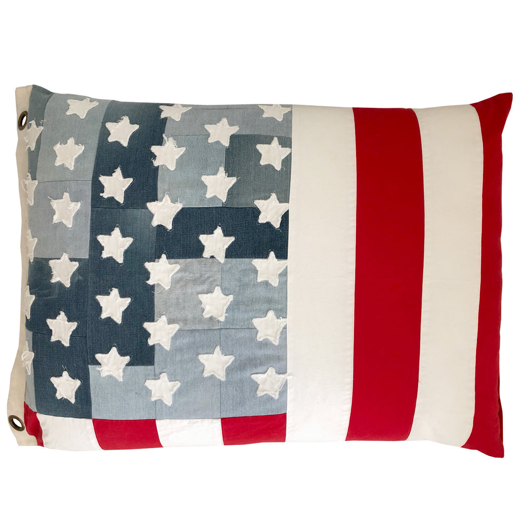 land of liberty floorie & flag | old glory red