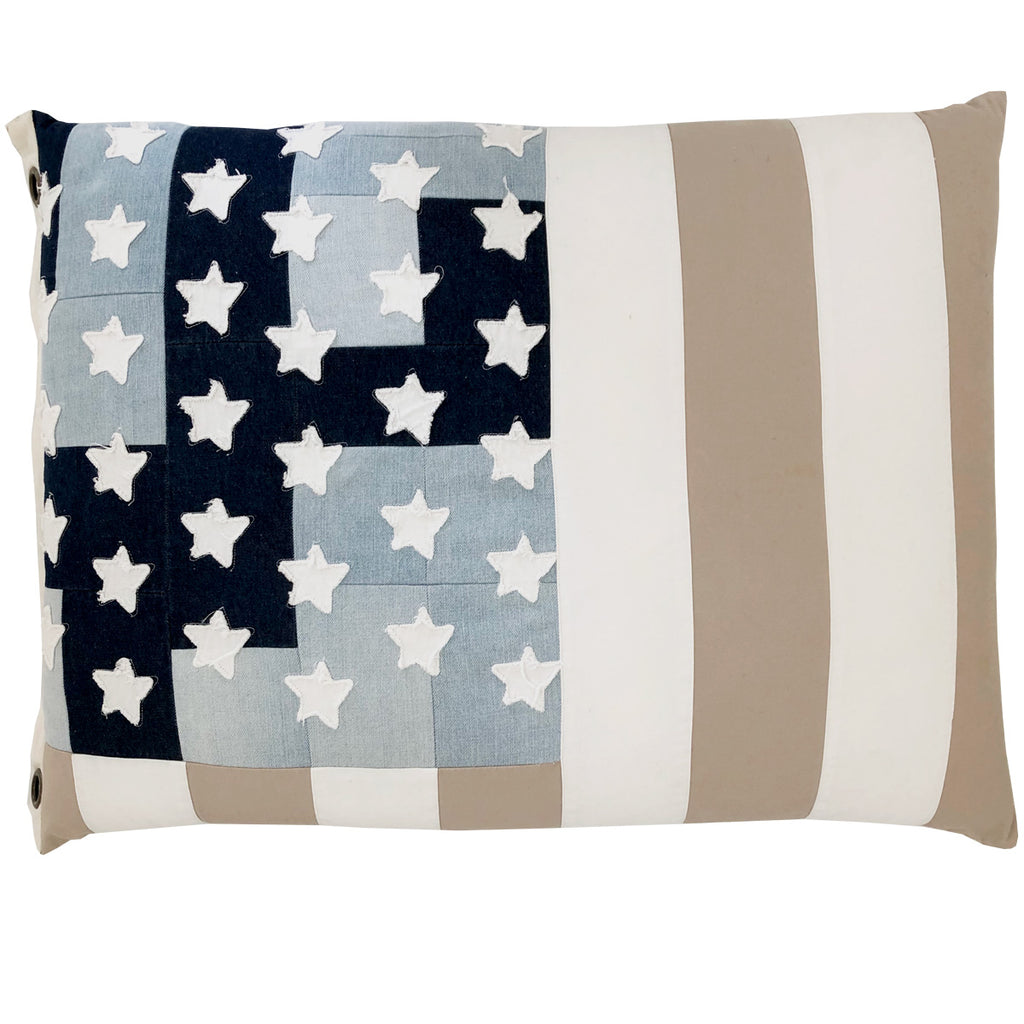 land of liberty floorie & flag | old sandy stripe