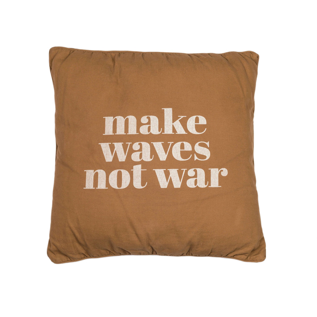 make waves not war | caramel