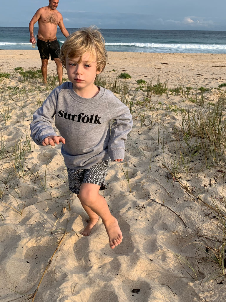 surfölk sweatshirt | grey marle