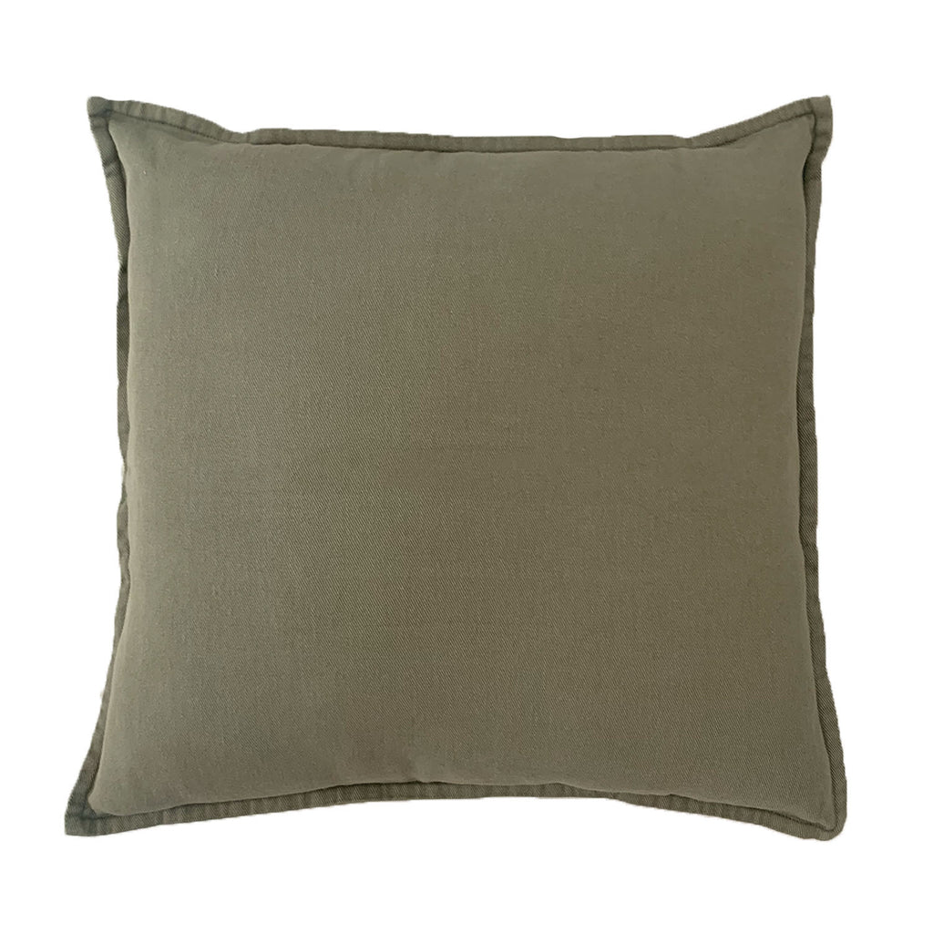fölk cushion | vintage khaki