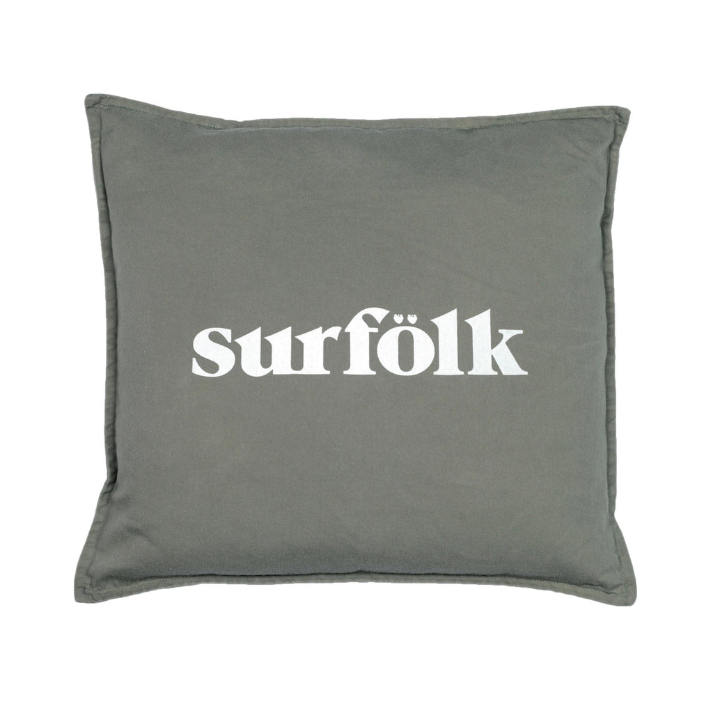 surfölk cushion | vintage khaki