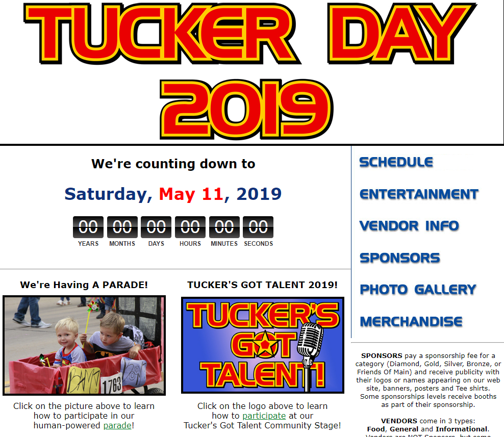 Tucker Day 2019 Review