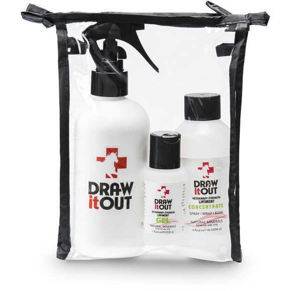 Draw It Out Veterinary Strength Liniment Boogie Bag