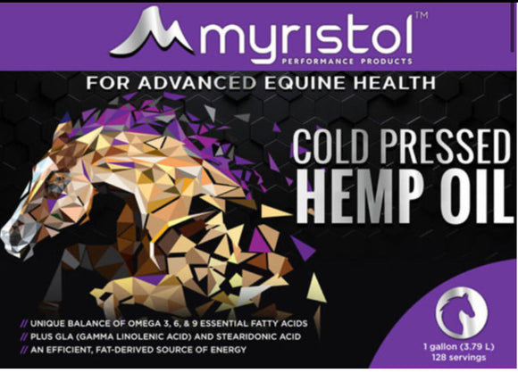 Myristol Cold Compressed Hemp Oil