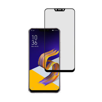 Asus Zenfone 5Z - Zero Eye Strain™ Micro-Louver Screen Protector/Tempered Glass - Fully Covered.ZES Screen Protectors